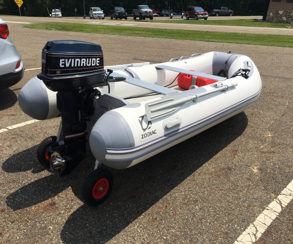 Used Boats For Sale in Ohio by owner | 2015 Zodiac Cadet 350