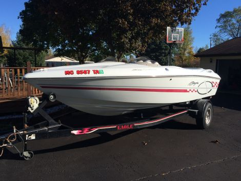 Used Baja Boats For Sale in Michigan by owner | 1999 19 foot Baja Sidewinder