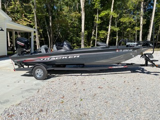 Used Fishing boats For Sale by owner | 2021 Tracker Pro Team 190 TX (SC)