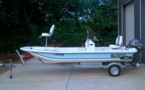 Used Carolina Skiff Boats For Sale in Asheville, North Carolina by owner | 2012 Carolina Skiff JV 17