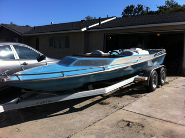 Used Kurtis Boats For Sale in California by owner | 1977 Kurtis 500