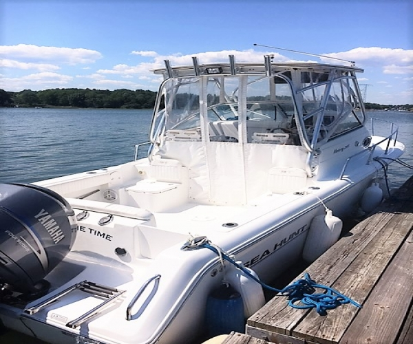 Used Power boats For Sale in Massachusetts by owner   2008 Sea Hunt Victory 245