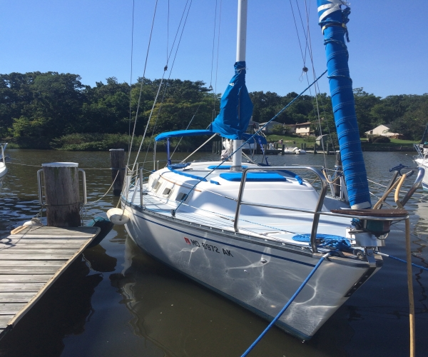 Used Hunter Sailboats For Sale in Maryland by owner | 1981 27 foot Hunter Cherubini