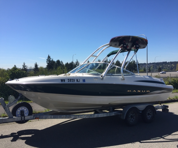 Used Maxum Boats For Sale in Washington by owner | 2000 Maxum 2000