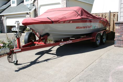 New Power boats For Sale in Oregon by owner | 1989 20 foot Mastercraft Tristar
