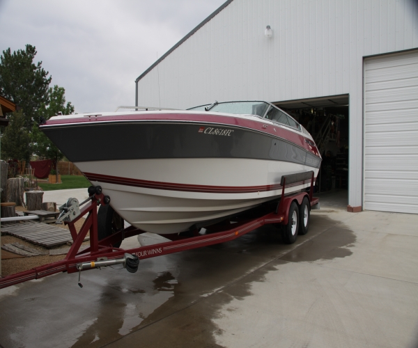 Used Power boats For Sale in Cheyenne, Wyoming by owner | 1990 FOUR WINNS 251 Liberator