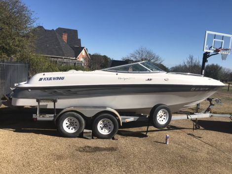 Used Boats For Sale in Texas by owner | 2001 FOUR WINNS Horizon 200 LS