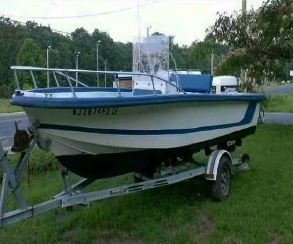 Used Power boats For Sale by owner   1973 19 foot Cobia Center console