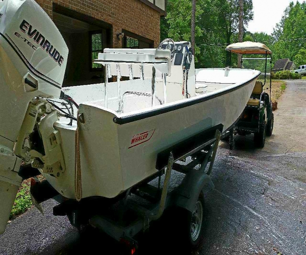 Used Boston Whaler Boats For Sale in Atlanta, Georgia by owner | 1971 17 foot Boston Whaler Nauset