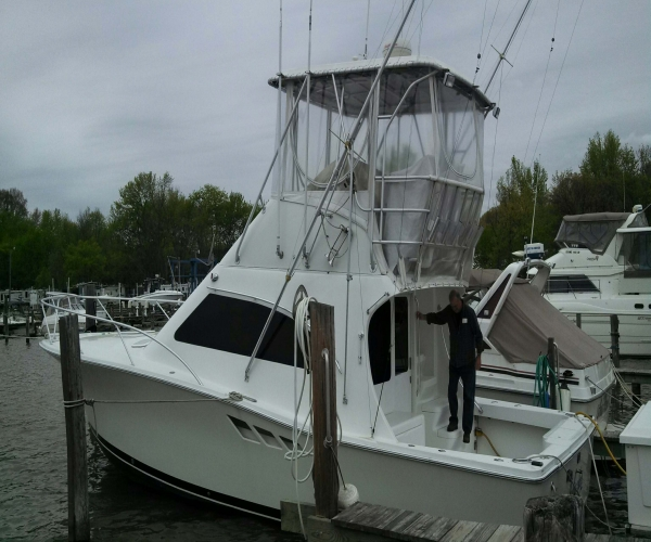 Used Power boats For Sale in Salisbury, Maryland by owner   2001 36 foot Luhrs Convertible