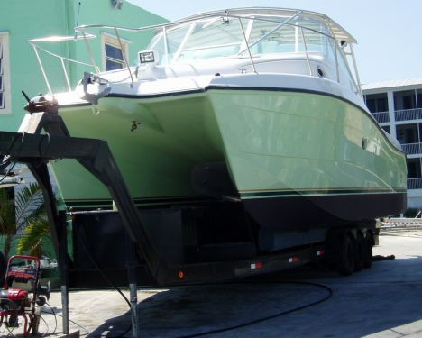 New Fishing boats For Sale by owner | 2012 Ocean Express Demo 36 Sport Fish Catamaran