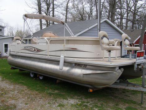 Used Monark Boats For Sale by owner | 2007 Monark Suncaster 240