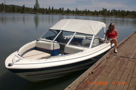 Used Power boats For Sale in Oregon by owner | 1993 19 foot bayliner classic