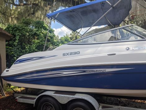 Used Power boats For Sale in Tampa, Florida by owner | 2008 Yamaha SX230