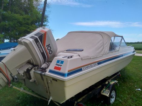 Used Boats For Sale in Ontario by owner | 1978 16 foot Chrysler Sport fury