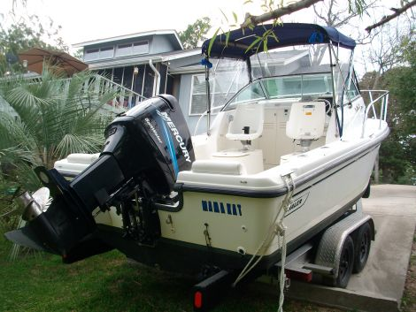 Used Boston Whaler Eastport Boats For Sale by owner   2005 21 foot Boston Whaler  Eastport