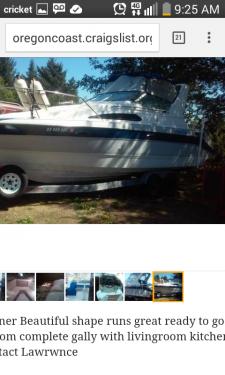 Used Power boats For Sale in Eugene, Oregon by owner | 1989 Bayliner 2755 Ciera Sunbridge