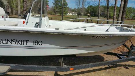 Used Fishing boats For Sale in Greensboro, North Carolina by owner   1984 sunskiff sunskiff 180