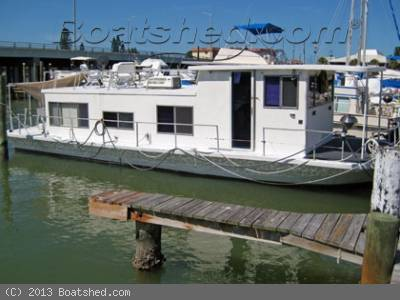 Used GIBSON Houseboats For Sale in Florida by owner   1979 40 foot gibson house boat