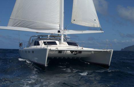 Used Boats For Sale by owner | 2000 53 foot custom  simonis design AeroRig in boom furling