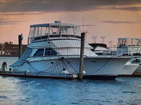 Used Power boats For Sale in Massachusetts by owner   1987 Vista 48 sport fishermen