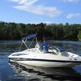 Used Power boats For Sale in Scranton, Pennsylvania by owner   2007 19 foot Crownline bowrider