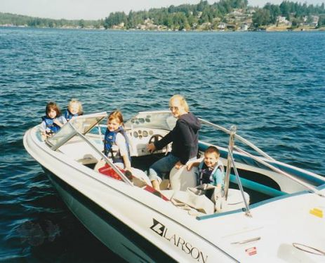 Used Larson Boats For Sale in Washington by owner | 1994 Larson Larson AA 180 Bowrider