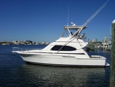 Used Power boats For Sale in Germany by owner | 2005 Bertram 390 Convertible