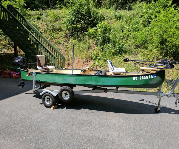 Used Gheenoe Boats For Sale by owner | 1996 Gheenoe 15' 4