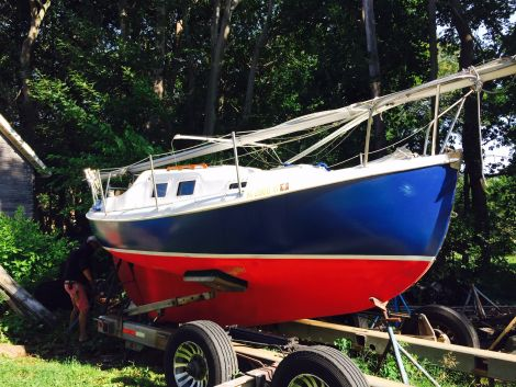 Used Sailboats For Sale by owner | 1976 Hallman 20 Nordica 20