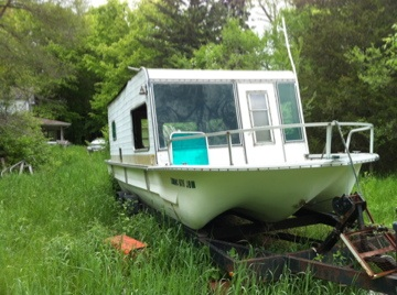 Used Yukon Delta Boats For Sale in Michigan by owner | 1972 25 foot Yukon Delta House boat