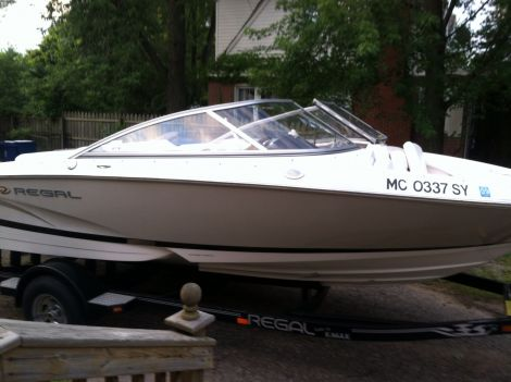 Used Regal 19 Boats For Sale by owner   2006 Regal 1900