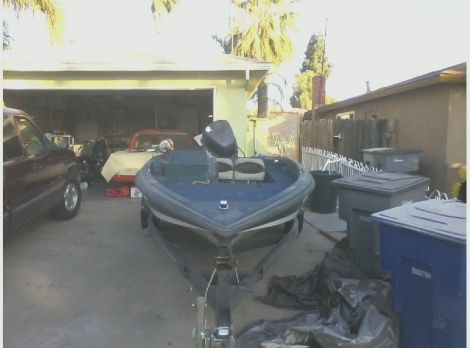 Used Boats For Sale in Fresno, California by owner   1990 17 foot bass tracker nitro