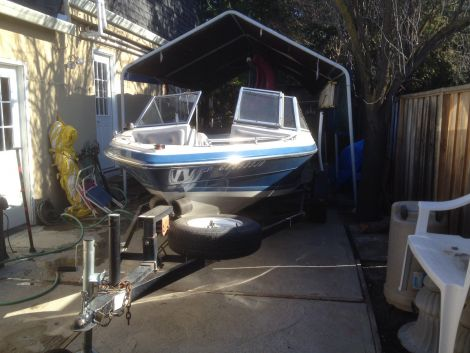 Used Blue Water Boats For Sale by owner | 1987 16 foot Blue water Runabout open bow