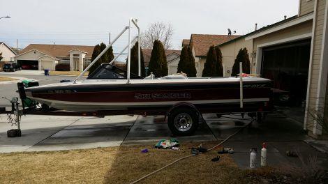 Used SANGER Boats For Sale by owner   1993 Sanger V20