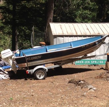 Used Klamath Boats For Sale by owner | 2008 14 foot Klamath Deluxe