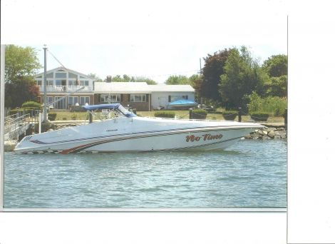 Used Fountain Boats For Sale by owner | 1996 Fountain 38 Sport Cruiser