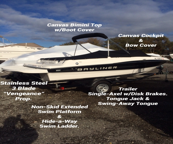 Used Bayliner Boats For Sale in Michigan by owner   2013 Bayliner 185 Bayliner Bowrider