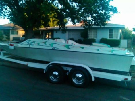 Used Boats For Sale in Fresno, California by owner | 1976 20 foot hawauuan pleasure