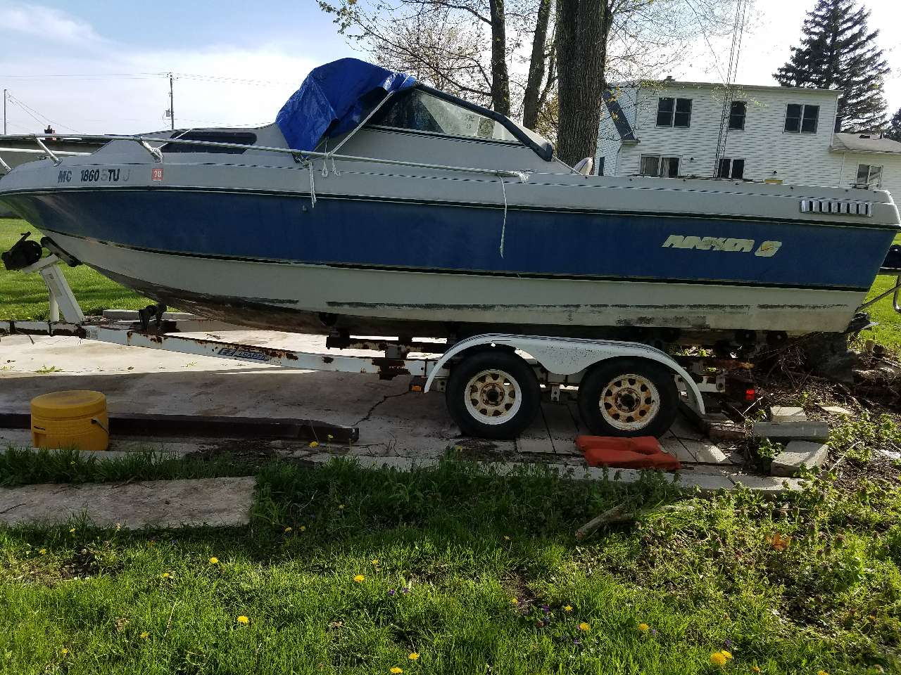 Used Rinker Boats For Sale in Michigan by owner | 1985 21 foot Rinker Gfu