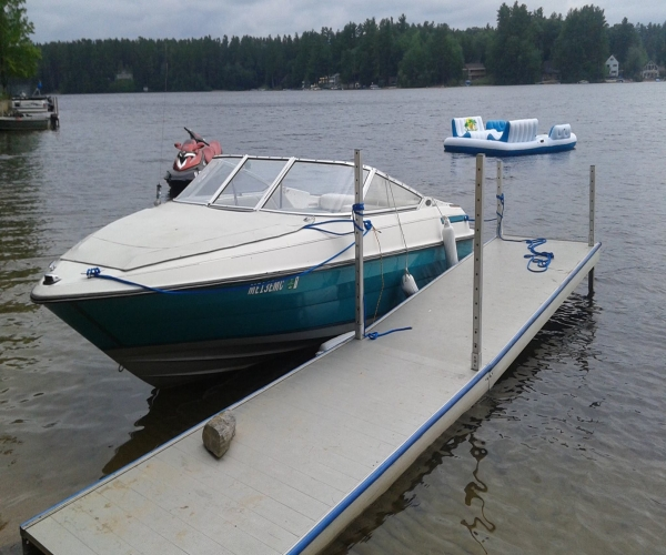 Used Boats For Sale in Maine by owner   1994 Maxum 2000 SRB Eddie Bauer