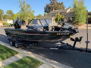 Used Power boats For Sale in Santa Cruz, California by owner | 2020 Tracker Targa V18 Combo