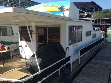 Used Stardust Houseboats For Sale in Oklahoma by owner | 1977 53 foot Stardust Cruiser