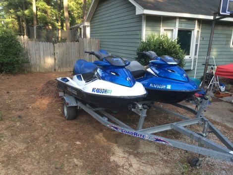 Used PWCs For Sale by owner   2007 12 foot sea doo gtx