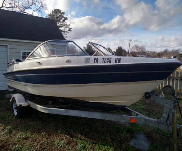 Used Mercruiser Boats For Sale by owner   2005 19 foot Mercruiser Bayliner