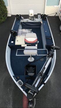 Used Fishing boats For Sale by owner | 1997 16 foot Sea nymph Fishing Machine