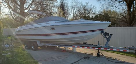 Used Power boats For Sale by owner | 2001 THUNDERBIRD  Formula 260 BR